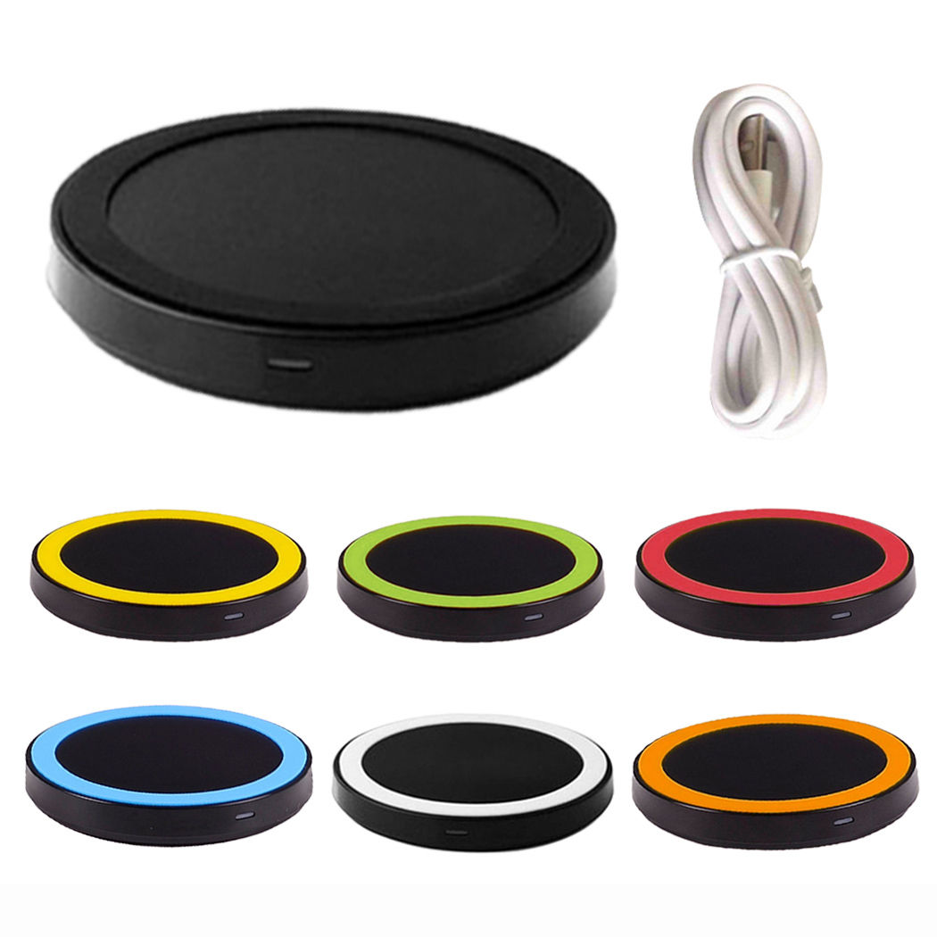 Qi Wireless Pad Charger Charging Hot For iPhone for Samsung Galaxy Note S3 S4 s5 S6 S7 f ...