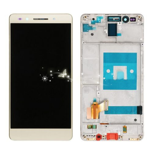 A LCD Display with Touch Screen Digitizer Assembly + Frame For Honor 7 Replacement Parts Free Shipping