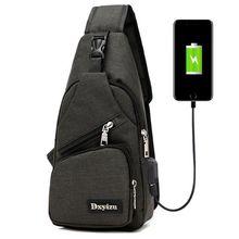 e1f1f642848c Мужская нагрудная сумка на одно плечо велосипедная Задняя сумка на ремне  сумки через плечо для женщин Дорожная походная Сумка дл.