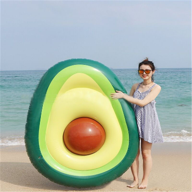Inflatable Giant Unicorn Avocado Pool Float Pool Swimming Float Swimming Ring Pool Circle Boia Piscina Pool Party  Buoy Toy