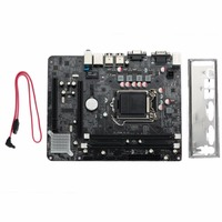 AMZDEAL H55 Chipset Socket LGA 1156 Computer PC Integrated Motherboard DDR3 Mainboard High Quality