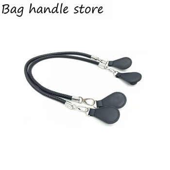new sliver and black color handle for obag Bags Shoulder Handbag drops for O Bag 70 cm 65 cm handle - DISCOUNT ITEM  0% OFF All Category