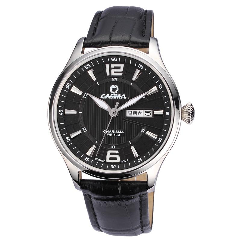 Casima fashion luxury brand watches men casual quartz wrist watch lover 39 s 50m waterproof hot for Casima watches