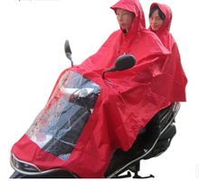 For Double poncho King Long double electric cars motorcycle raincoat free shipping