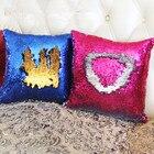 Mermaid sequins magical color change reversible sequins throw pillow cover Home Decor Pillow Case Decorative Pillow Case