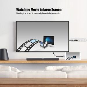 Image 2 - USB HDMI dönüştürücü Yıldırım için HDMI Ayna Kablo Adaptador Apple iPhone için X 8 7 6 S iPad HDMI Dijital AV Adaptörü