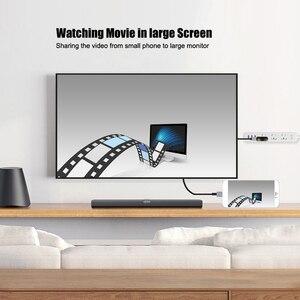 Image 2 - USB zu HDMI Konverter für Blitz zu HDMI Spiegel Kabel Adaptador für Apple iPhone X 8 7 6 S iPad HDMI TV Digital AV Adapter