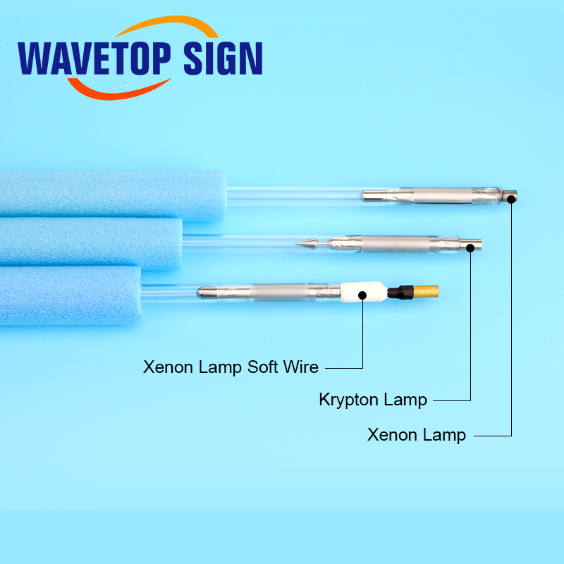 Image 5 - WaveTopSign Laser Xenon Lamp X8 Series Short Arc Lamp Q switch Nd Flash Pulsed Light For YAG Fiber Welding Cutting-in Tool Parts from Tools