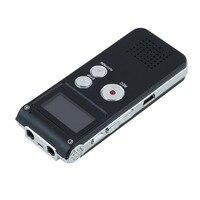 Neue 8 GB Speicher Digital Voice Recorder mit LCD Display Portable Stimme Audio Recorder mit Mikrofon Diktiergerät