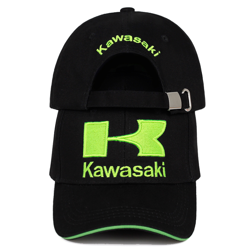 2019 new kawasaki embroidery   baseball     cap   hip hop fashion 100%cotton hat outdoor men and women sun hats snapback   caps