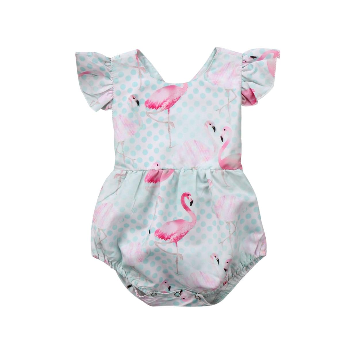 Rüschenkragen Neugeborenen Baby Mädchen Kleidung Sommer Sleeveless Einfarbig Säugling Baby Strampler Overall Sunsuit Outfits Kleidung StraßEnpreis Babykleidung Mädchen