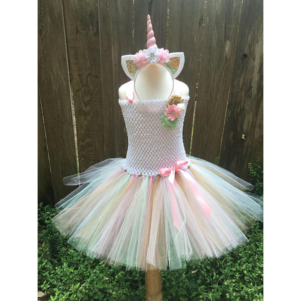 My Baby Girls Tutu Dress Children Girl little Pony Dresses Cartoon Princess Party Costume Kids Independence Day Summer Clothes summer baby girl party dress kids princess dresses for girls children clothes little girl boutique clothing tutu school outfits