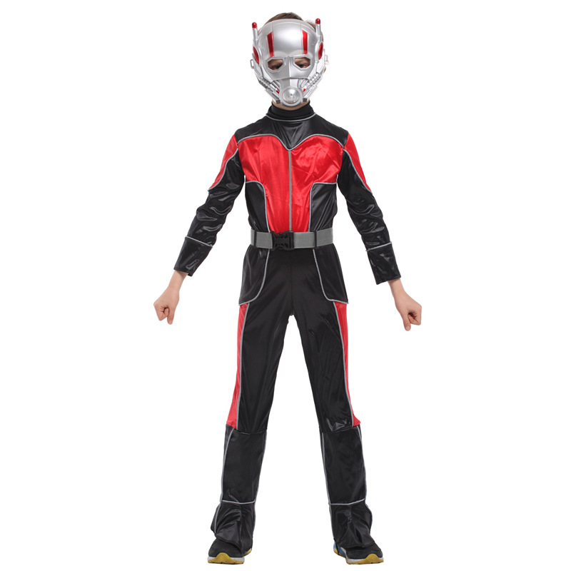 f8fba875eb76 M XL Fantasia Movie Anime Boys Kids Ant Man Cosplay Disfraces The Avengers  Costume Halloween Costumes for Children-in Boys Costumes from Novelty &  Special ...