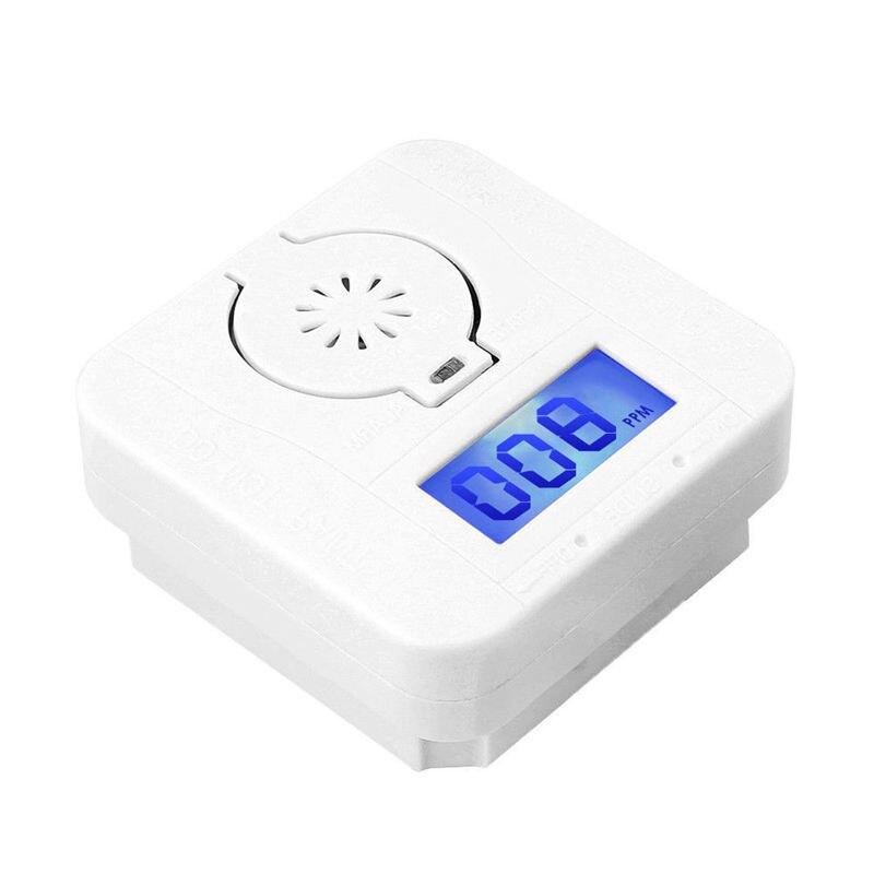 Co Carbon Monoxide Smoke Detector Alarm Poisoning Gas Warning Sensor Security Poisoning Alarm Lcd Photoelectric Detectors
