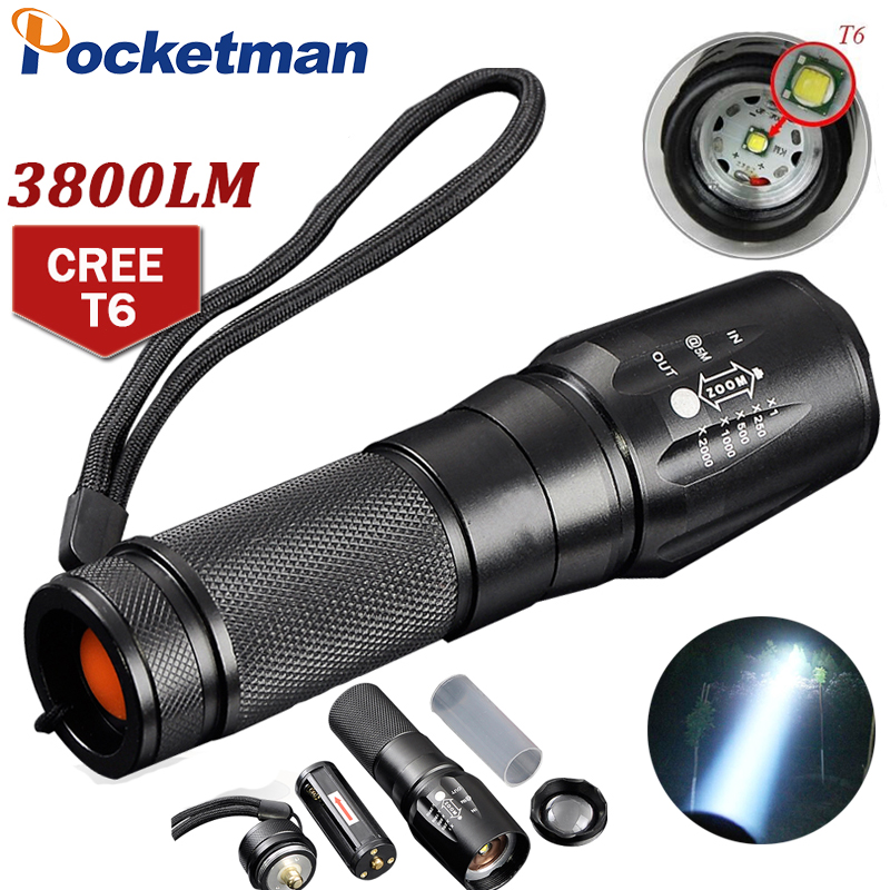 T6 3800 Lumens LED Flashlight Zoomable toche lampe lanterna Torch linternas LED by 18650/AAA customize Drop shipping ZK93T6 3800 Lumens LED Flashlight Zoomable toche lampe lanterna Torch linternas LED by 18650/AAA customize Drop shipping ZK93