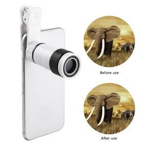 Image 5 - 8x/12xミニ高倍率単眼望遠鏡長焦点レンズユニバーサルデジタルカメラ携帯電話