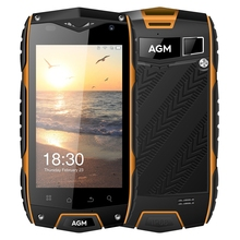 Original AGM A7 4G Smartphone 4.0 Inch Android 6.0 MSM8909 Quad Core Cellphone 1.1GHz 2GB+16GB IP68 Waterproof 8.0MP Cam Phone