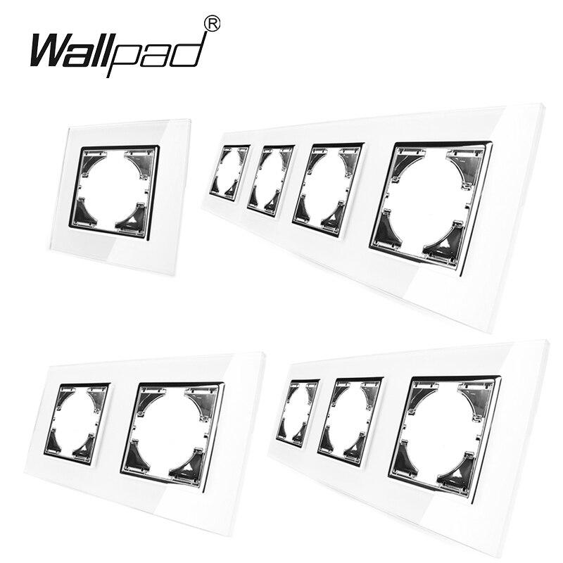 DIY Glass Frame For Module EU Sandard Temepred Glass Frame Wallpad L6 Series