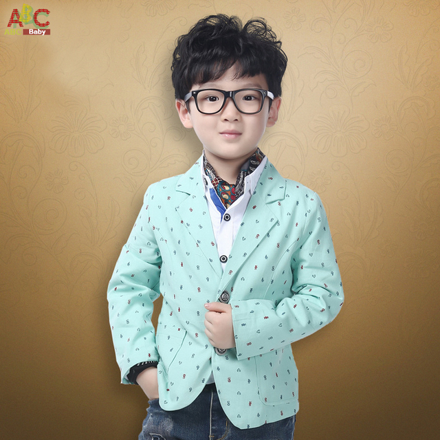 90de9de2f25b 2016 New Children s Spring Casual Suits Boys Jackets Stripe Korean ...
