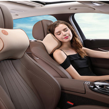 1 PCS car pillow neck headrest cover protection safety automatic support rest pad