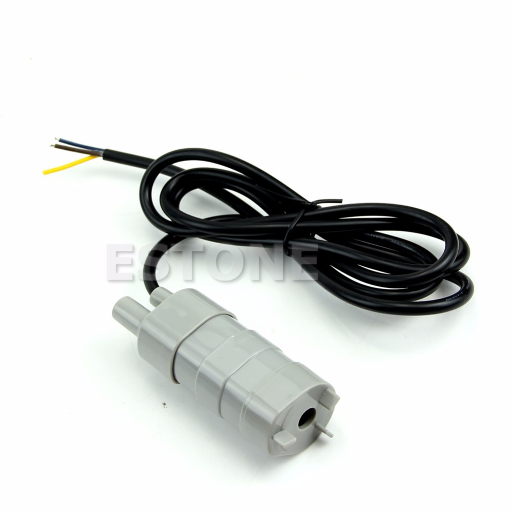 New 12V DC 1.2A Micro Submersible Motor Water Pump 5M 14L/Min 840L/H 6-15VNew 12V DC 1.2A Micro Submersible Motor Water Pump 5M 14L/Min 840L/H 6-15V