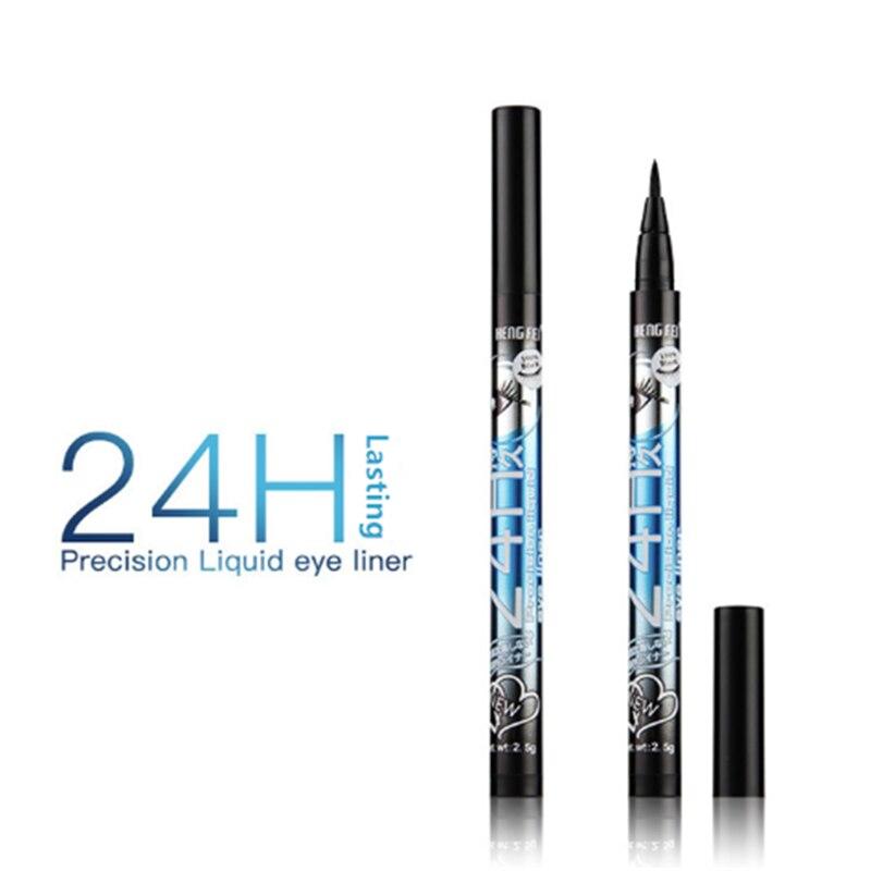 Wysokiej jakości Eyeliner ołówek czarny/brązowy/fioletowy/niebieski wodoodporny długotrwały płynny Eyeliner ołówek Eye Liner makijaż narzędzia