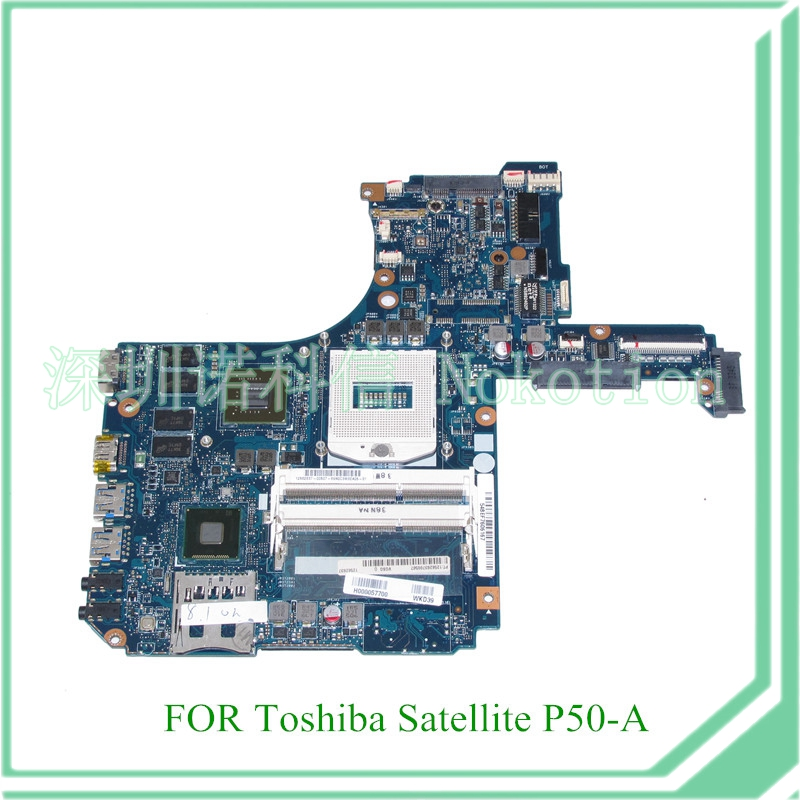 H000057700 For toshiba satellite P50 P50-A laptop motherboard 15.6 Nvidia GeForce GT740M DDR3L