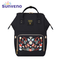 Sunveno Multi Function Mammy Bags Large Capacity Backpack Mother Baby Bag Maternity Nursing Diaper Bag Shoulder