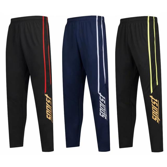 survetement Football 2018 Kit Men profession soccer training pants sportswear Goalkeeper Training Pants jogging Gym Trousers