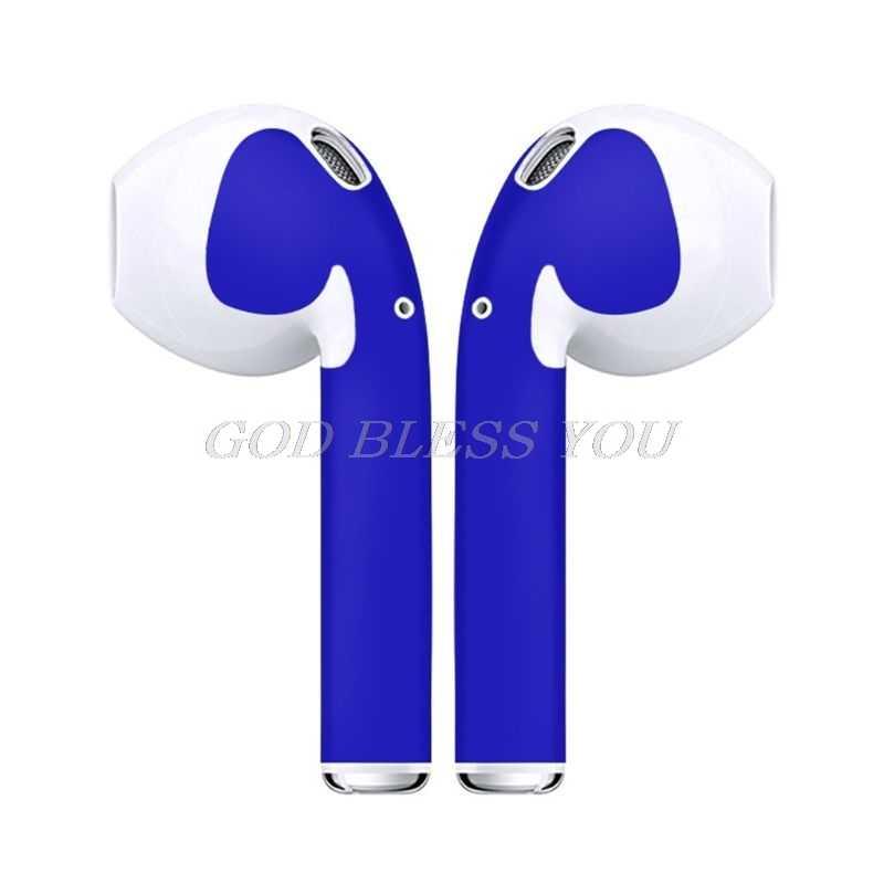 Autocollant de peau Fine pour Apple Airpods Air Pods écouteurs autocollant écouteurs accessoires