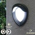 9 Вт декоративный сад Led Nodern Ip65 открытый настенный светильник с датчиком движения современные внешние светильники настенные бра