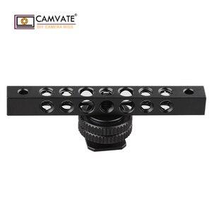 Image 1 - CAMVATE クール黒アルミチーズバーで 1/4 20 ネジ穴モニター C1483 カメラの撮影アクセサリー