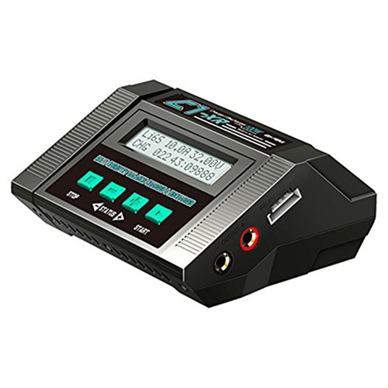 EV-PEAK C1XR 80W 10A AC/DC 1-6S LiHV/LiPo/LiFe/LiIon Battery balance charger original ev peak d1 rc lipo battery charging for yuneec typhoon q500 intelligent balance battery charger
