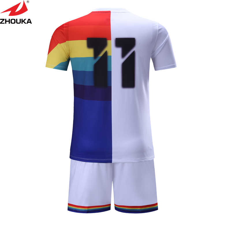 2d674c972 ... Print football shirts custom personalized football jersey factory price  soccer shirt design template Football training suit ...