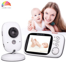 Infant 2.4GHz Wireles Baby Monitor Babysitter Digital Video Baby Camera Audio Night Vision VOX 3.2Inch Display Nanny Babymonitor
