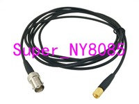 Cable BNC jack Q9-L5 Microdot plug Flaw Detector Accelerometer sensor Ultrasonic RG174 3FT~10M