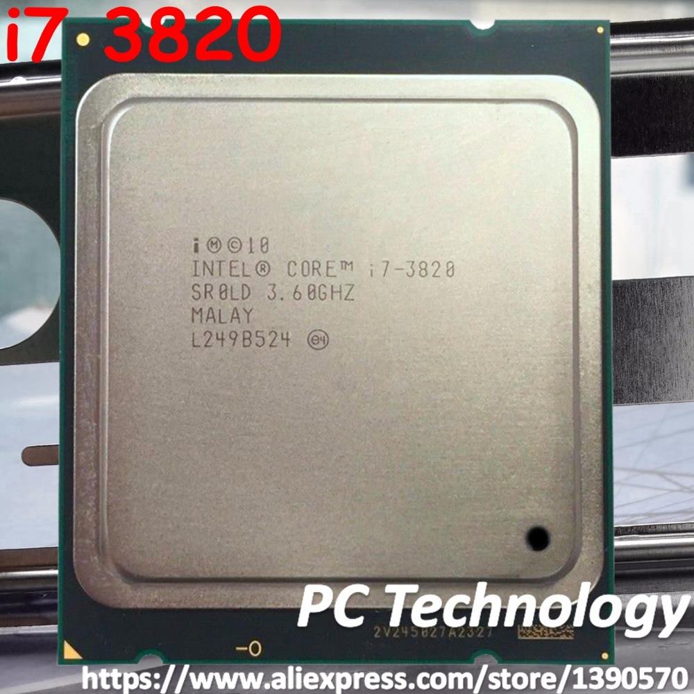 Intel Core i7-3820 SR0LD Desktop CPU Processor Socket R LGA2011 3.60GHz 10MB