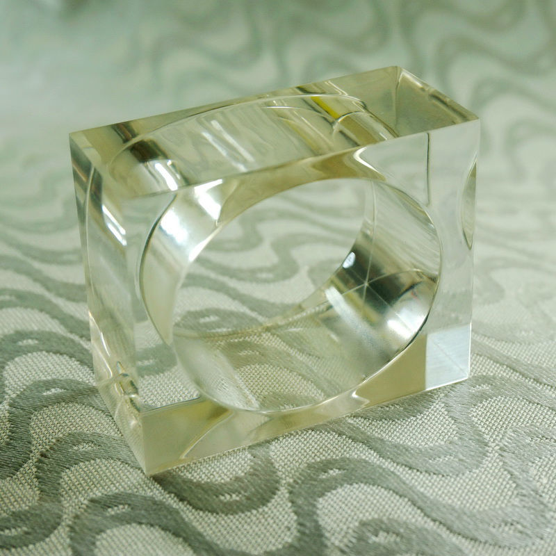 Bulk Set Deco-Mate Acrylic U Shape Napkin Stand Holder Table D/écor, Clear 1 Wholesale