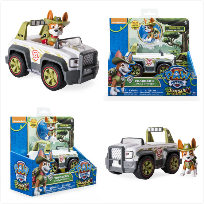 Original box Genuine Paw Patrol Marshall Truck Dog Brinquedos Dolls puppy patrol Toy apollo action figure kids Gift Juguetes toy