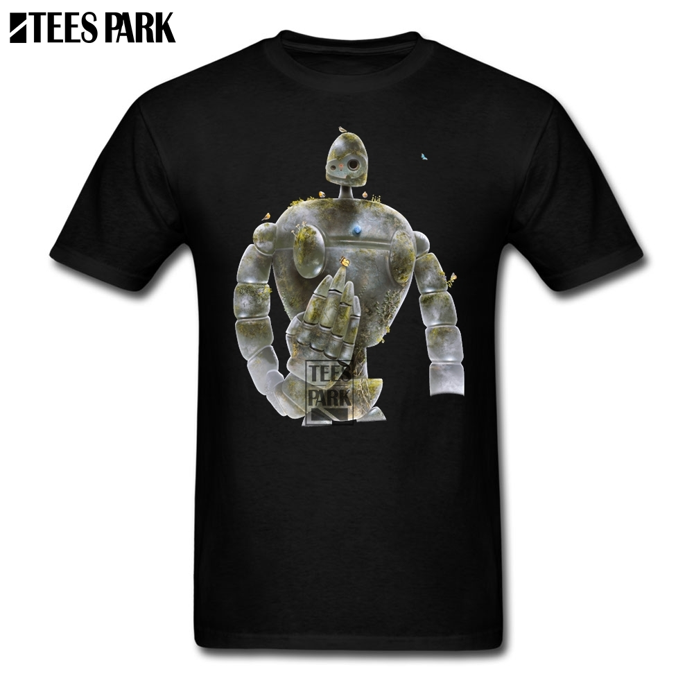 Plus Size Clothing The Forgotten Soldier Castle in the Sky Casual T Shirts Youth O-Neck Short Sleeve T-Shirt Hot Sale Men 2018