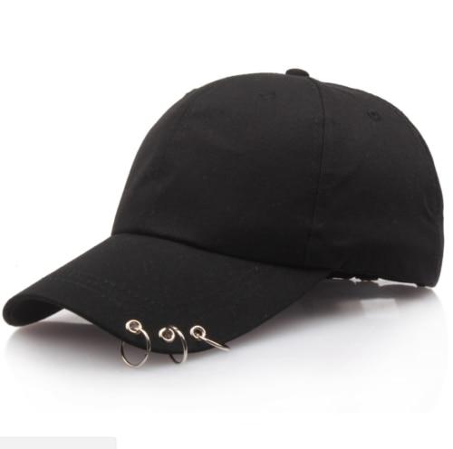 cfea86823d9 2018 New Mens Womens Boys Girls Baseball Cap Adjustable Black Hats ...