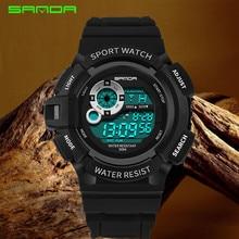Mudmaster Digital Watch Single Display Sport Men Running Shockproof Alarm Outdoor Waterproof Electronic