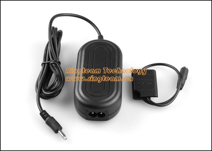 Power AC Adapter for Pentax Optio M50 M60 V20 W60 W80 L50 Ricoh R50 Olympus FE-370 Sanyo Xacti VPC-E
