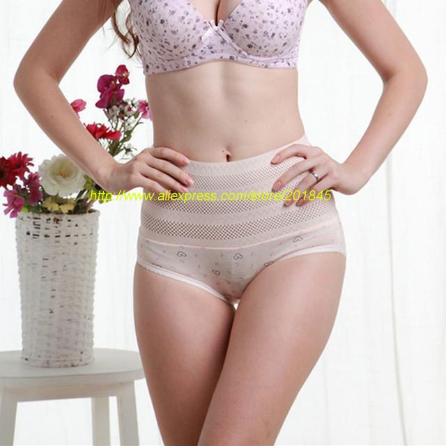 3 Pcs Emagrecimento calças cueca abdômen pós-parto recuperação do corpo verão cintura fina cintura quadril corpo roupa interior
