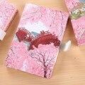 2018 новый милый розовый маленький Свежий Магнитный блокнот канцелярские принадлежности креативный ЦВЕТ СТРАНИЦА путешествия день Блокнот ...