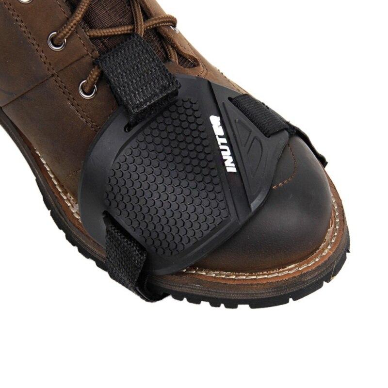 Moto Scarpe di Protezione Moto Gear Shifter Scarpa Stivali Protector Moto Avvio Della Copertura di Protezione Del Cambio Pad Accessori per attrezzature di protezione    - AliExpress