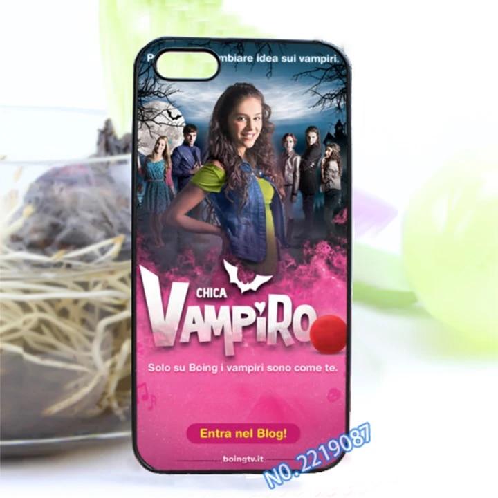 chica vampiro 3 fashion cover case for iphone 4 4S 5 5S 5C SE 6 plus 6S plus 7 plus #Z101