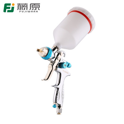FUJIWARA Paint Spray Gun HLVP High Atomizing Pneumatic Spray Gun Automobile Furniture Topcoat Spray Gun Spraying Tool цена
