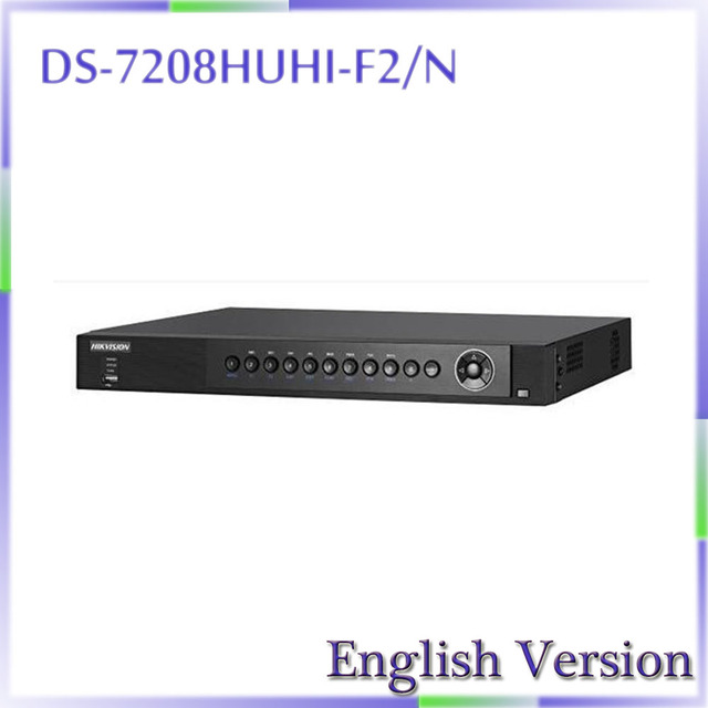 DHL free shipping In stock original english version DS-7208HUHI-F2/N Turbo HD DVR playback at up to 256X speed