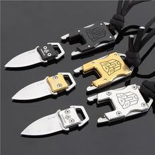 Многофункциональный нож-трансформер для выживания на открытом воздухе, тактический нож с пакетом, нож для самообороны, Прямая поставка